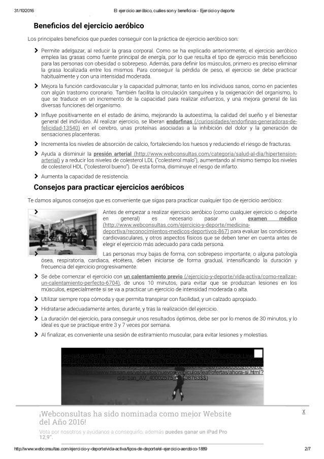 Print jobauthorenriqueta11el ejercicio aeróbico, cuáles son y beneficios - ejercicio y deporte Slide 2