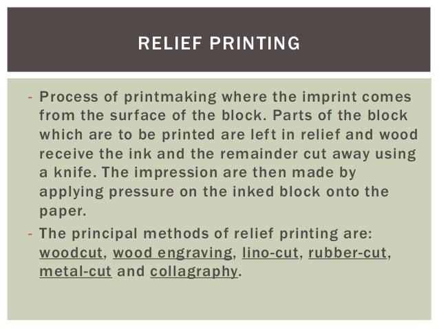Printmaking Presentation Fa28