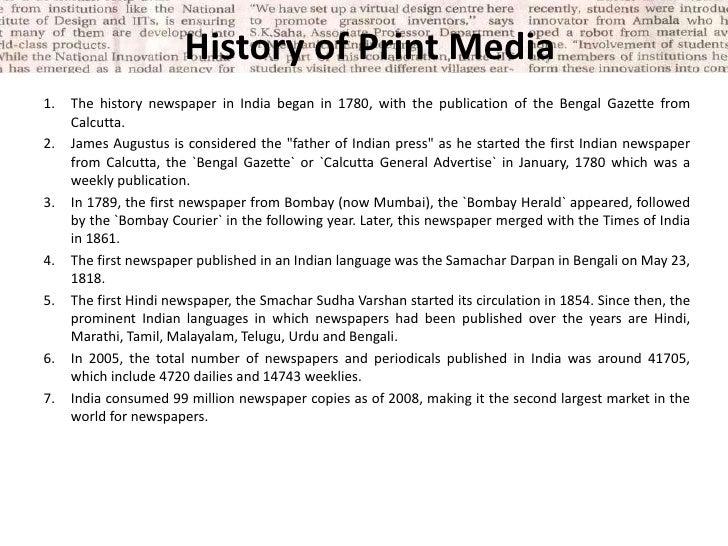 HISTORY OF INDIAN MEDIA EBOOK