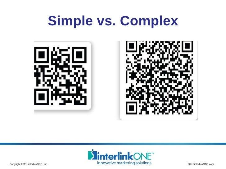 Simple vs. Complex