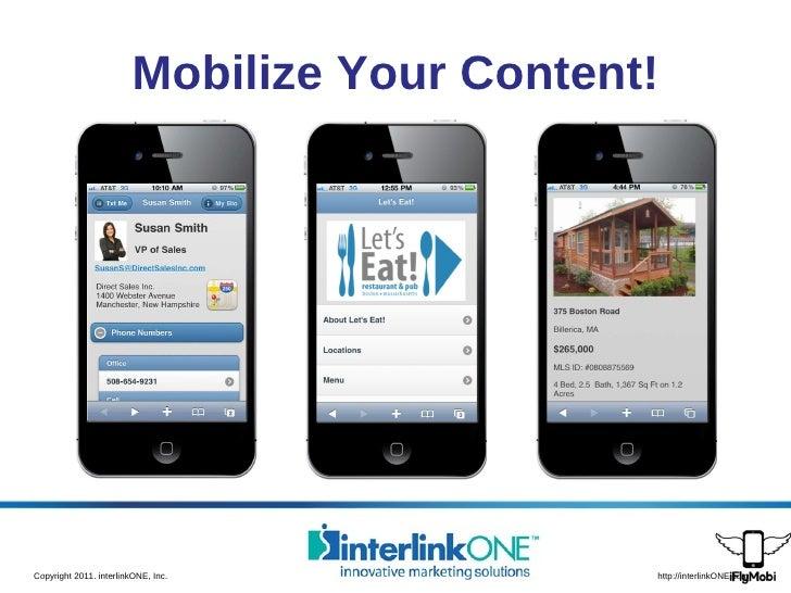 Mobilize Your Content!