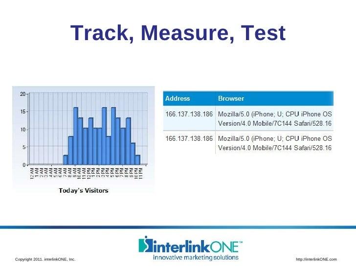 Track, Measure, Test