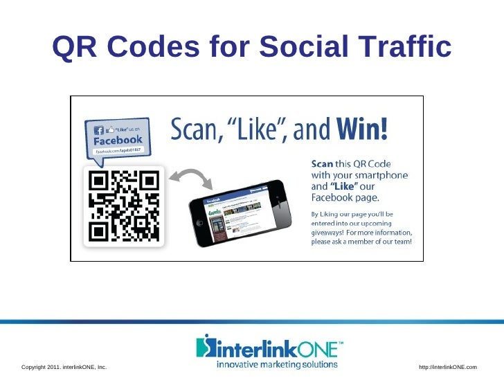 QR Codes for Social Traffic