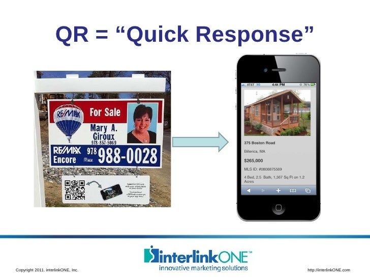 "QR = ""Quick Response"""