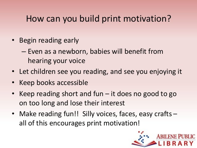 6 how can you build print motivation