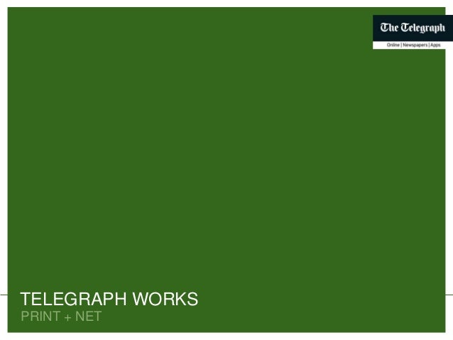 PRINT + NET TELEGRAPH WORKSPRINT + NET TELEGRAPH WORKS