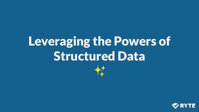@izzionfire #SMX Leveraging the Powers of Structured Data ✨