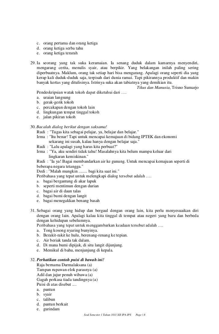 Print Soal Smt 1 1011