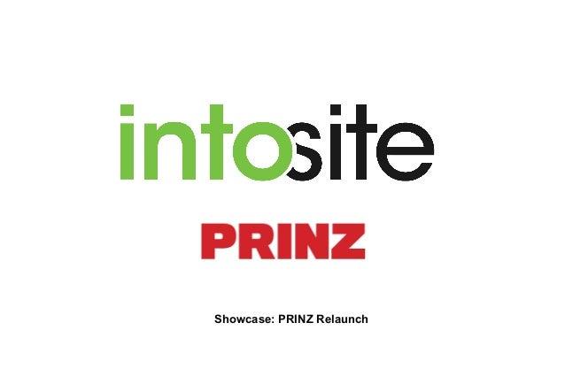 Showcase: PRINZ Relaunch