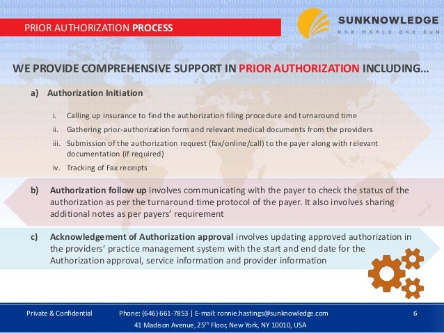 Prior Authorization Service Provider By Sun Knowledge