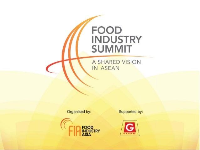 Priorities in The Philippines        Edith de Leon Philippines Food Chamber