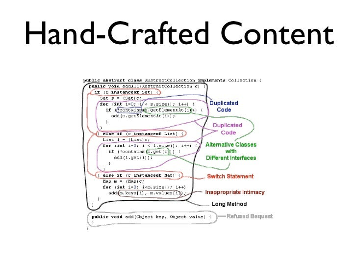 Hand-Crafted Content
