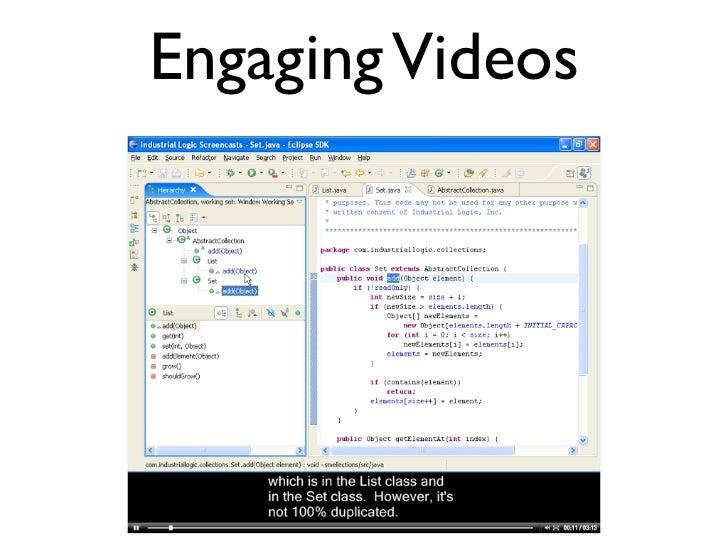 Engaging Videos