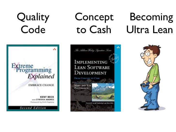 Quality   Concept   BecomingCode      to Cash   Ultra Lean