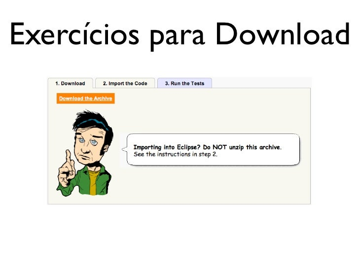 Exercícios para Download