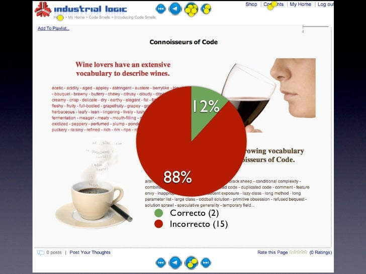 Shop             3123%         77%  Correto (10)  Incorreto (3)             31