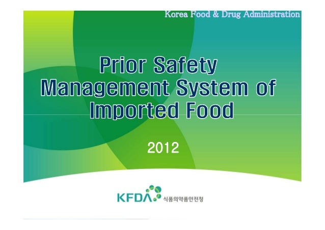Korea Food & Drug Administration