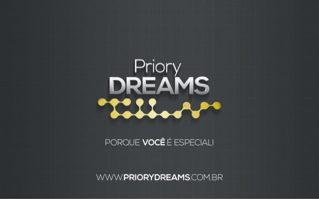 Apresentação Priory Dreams (NOVA)