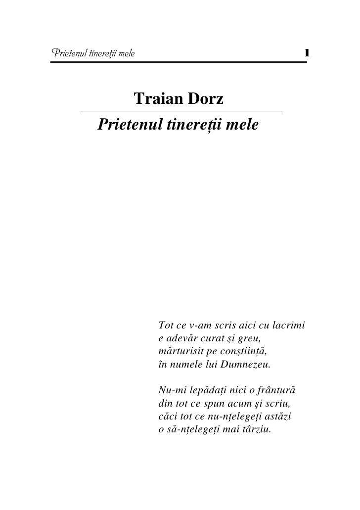 Prietenul tinere ii mele                                     1                           Traian Dorz              Prietenu...