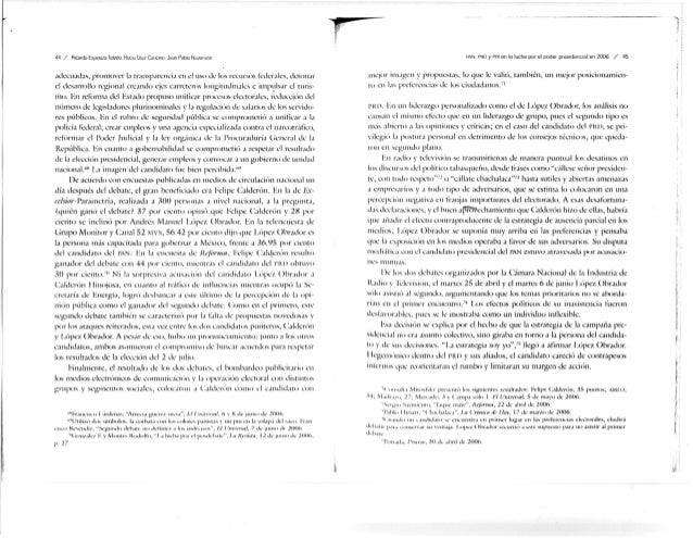 44 / Ricardo Hüpmo/ii Toledo. Ruciu Oiu/1 CÍHIUWJ. Juun Piíblo N,ivH'it'te adecuadas, promover la transparencia en el uso ...