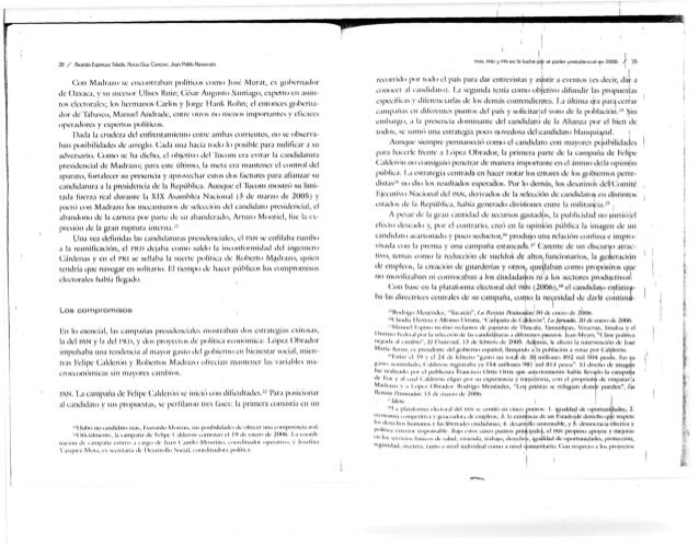 28 / Rrcatdu Espiiiu/í) bledo, Houu Du/ Canctun. Jujn Pdblü Nav l'AN. Pili) y PHI en la ludia par el poder piesiüeiicml «M...