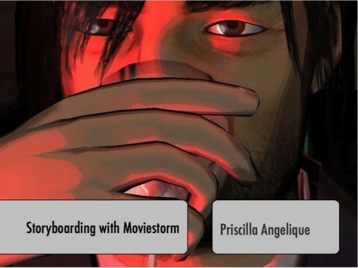 Storyboarding with Moviestorm