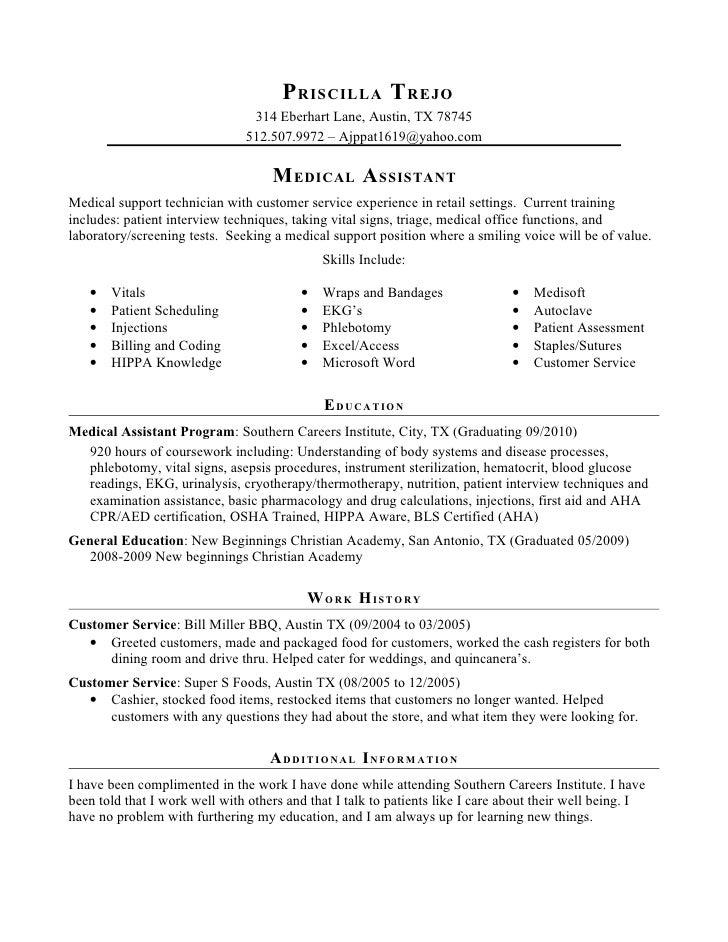 Priscilla Trejo Resume