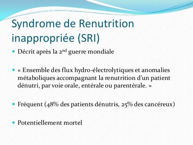 SRI - manifestations Clinique    Digestif (douleur, nausées, vomissements, constipation)    Neurologique (Guillain Barr...