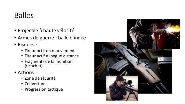 Prise en charge du blessé balistique Slide 3