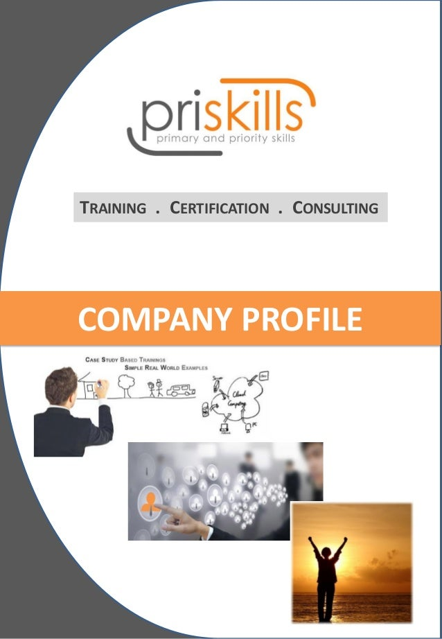 TRAINING . CERTIFICATION . CONSULTING  COMPANY PROFILE