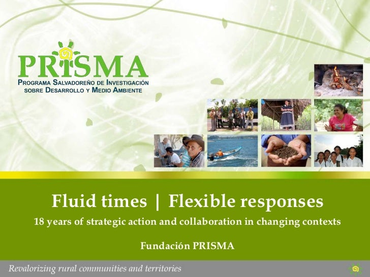 Fluid times | Flexible responses<br />18 years of strategic action and collaboration in changing contexts<br />Fundación P...