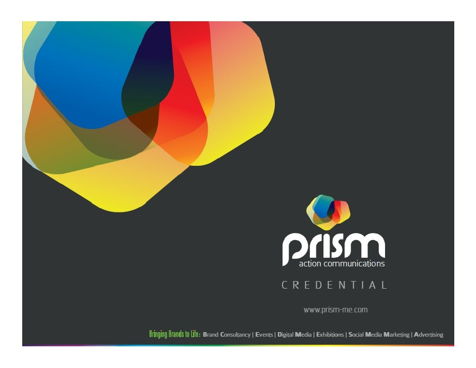 The AgencyPrism is a truly full service agency offering 360° creativecommunications solutions to an ever growing roster of...