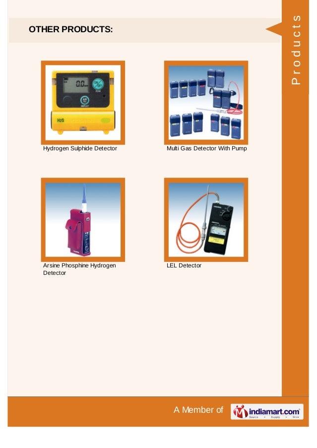 Prism Gas Detection Pvt. Ltd., Mumbai, Gas Detector
