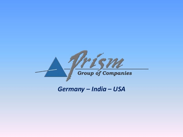 Germany – India – USA
