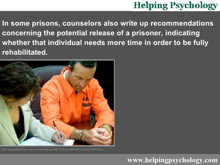 prison rehabilitation and counseling Drug treatment under correctional supervision on probation | in jail | in state and federal prisons on  8% drug rehabilitation, and  substance abuse treatment includes detoxification, professional counseling, a residential stay, or maintenance drug programs other programs include alcoholic anonymous (aa), narcotics.