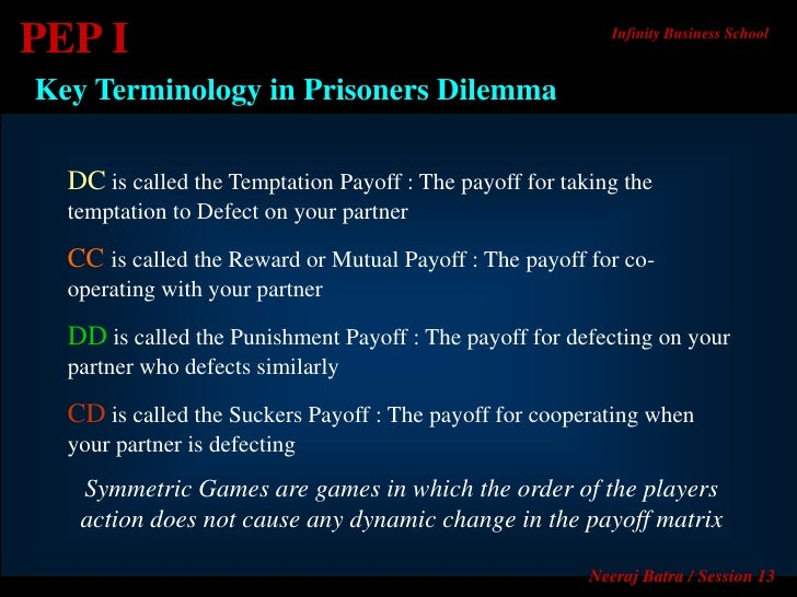 Reward punishment prisoners dilemma essay