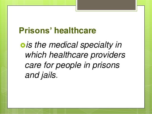 Prisoners' health Slide 2