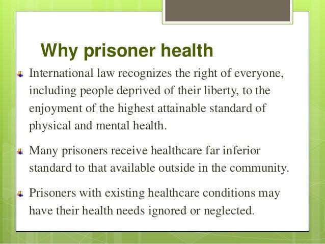 Prisoners' health Slide 3