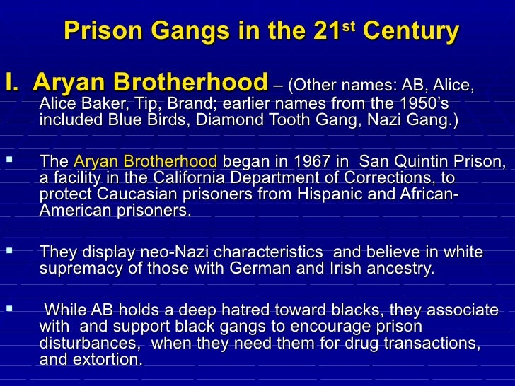 aryan brotherhood a code of conduct Many of them are, you know, they're educated, and they conduct themselves   especially the aryan brotherhood of texas, it does have white.