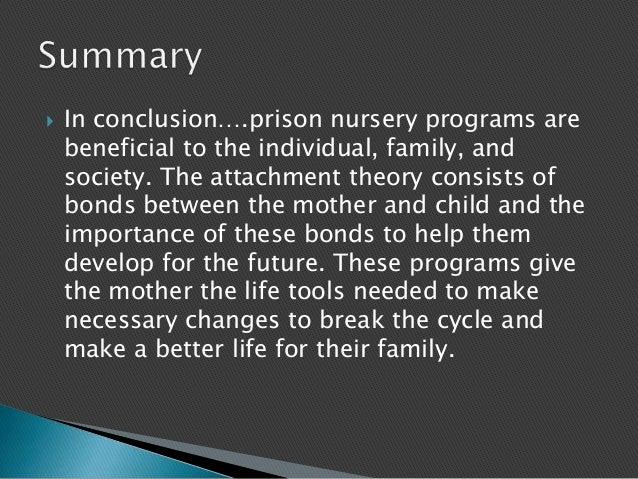 Prison nursery