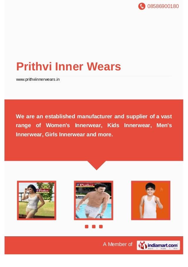 Prithvi Inner Wears, Tiruppur, Women's Innerwear