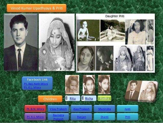 Vinod Kumar Upadhyaya & Priti         Facebook Link       Pt. Baij Nath Misra       Pt. K.L. Misra                      Ch...