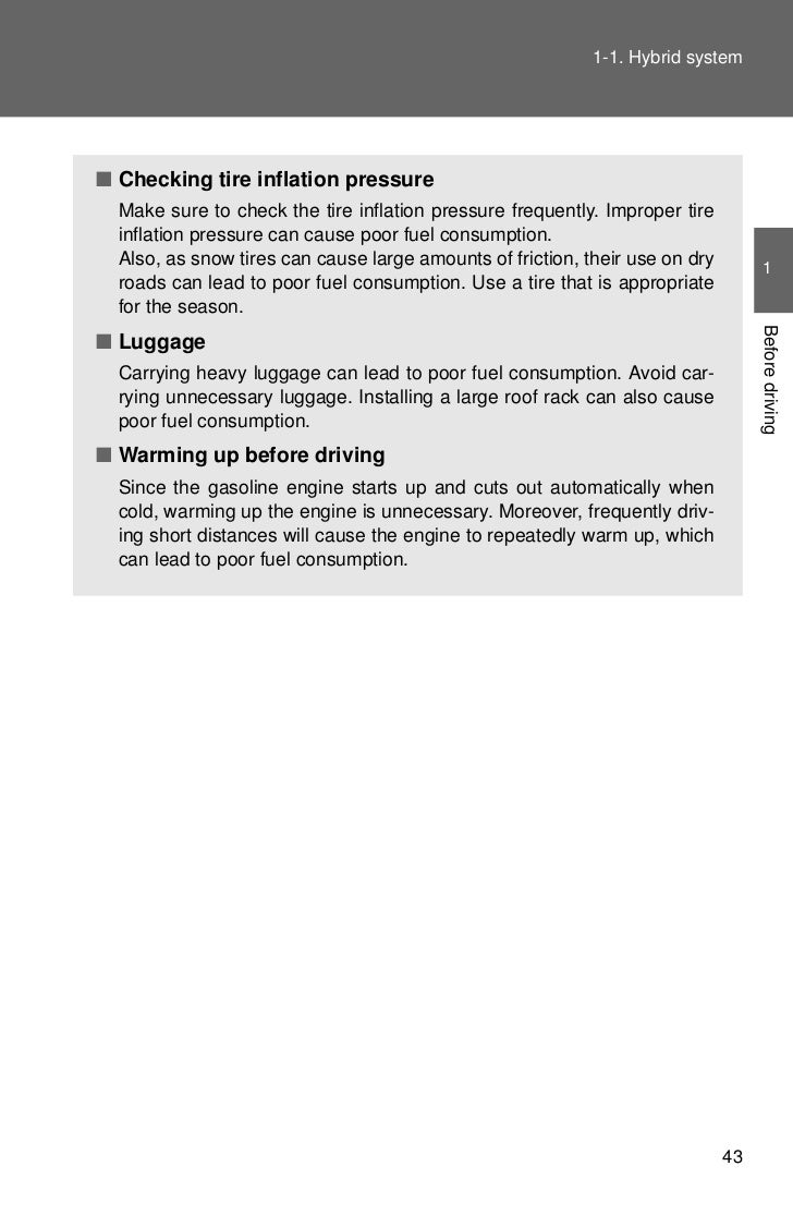 2012 Toyota Prius C Hybrid Information