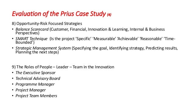 Business Case Study: Toyota's Organizational Structure ...