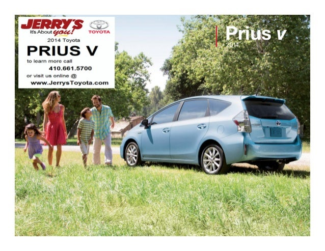 Prius v 2014