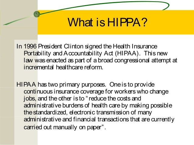 Hipaa Workforce Training By Wayne Holmes Mental Health Recovery Board
