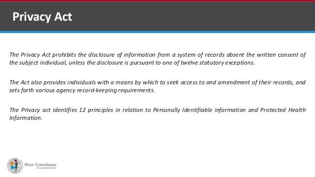 Privacy Act Slide 2