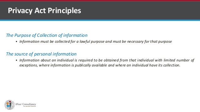 Privacy Act Slide 3