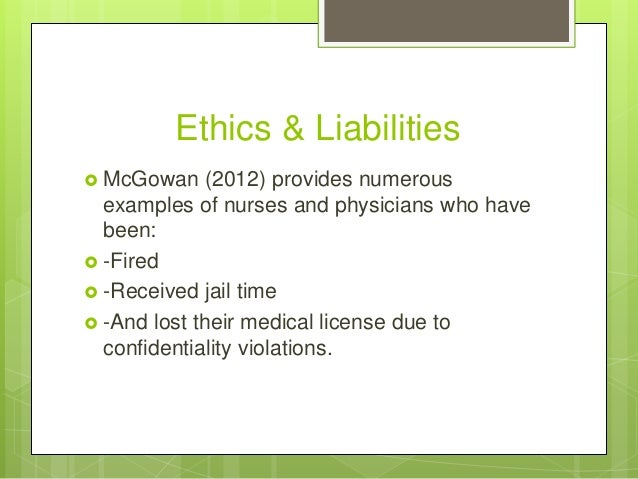 confidentiality ethics and patient Respecting patients' privacy and confidentiality helps build trust, foster thoughtful decision making and improve care.