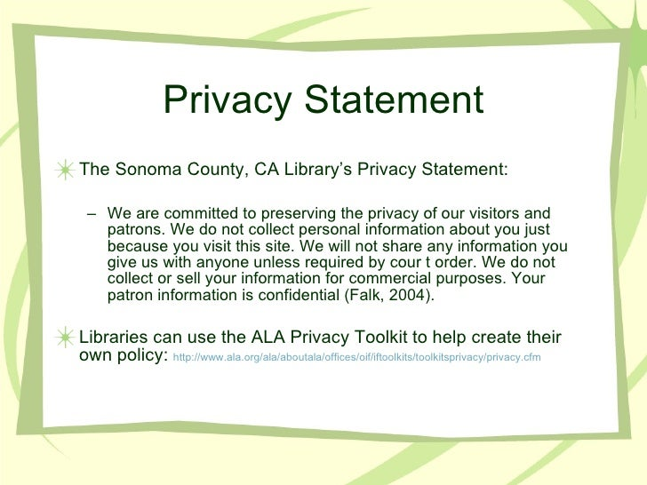 privacy and security 815 rh slideshare net